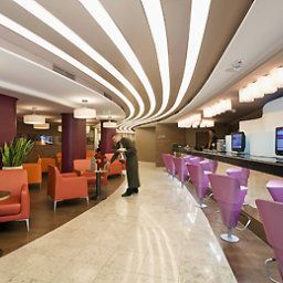 Sala śniadaniowa w restauracji Mercure Budapest City Center Hotel Fotos