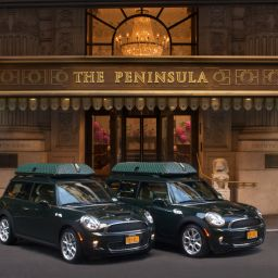 Exterior view The Peninsula New York Fotos