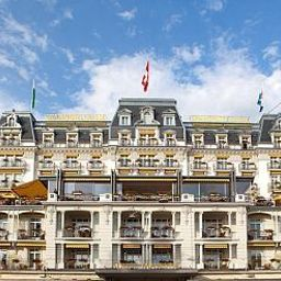 Фасад Grand Hotel Suisse-Majestic Fotos