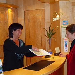 Reception City-Hotel Garni Fotos