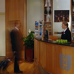 Reception Hampshire Hotel Lancaster Amsterdam Fotos