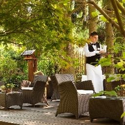 Terrasse Restaurants et Spa Le Parc Hotel Chateaux et Hotels Collection Fotos