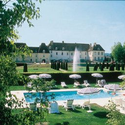 Pool Chateau de Gilly Grandes Etapes Francaises Fotos