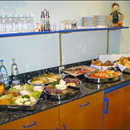 Buffet Privathotel Bremer Fotos