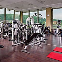 Fitness room Budapest Marriott Hotel Fotos