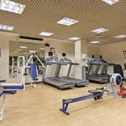 Wellness/fitness area Hilton Glasgow hotel Fotos