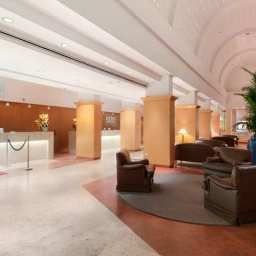 Hall Hilton Rome Airport hotel Fotos