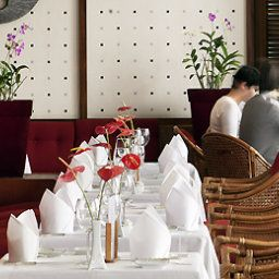 Breakfast room within restaurant Pullman Abidjan Fotos