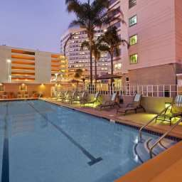 Pool Doubletree Hotel Los Angeles Interna Airport Fotos