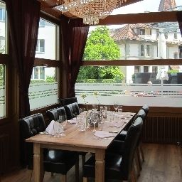 Breakfast room within restaurant Hotel Spatz Luzern Fotos