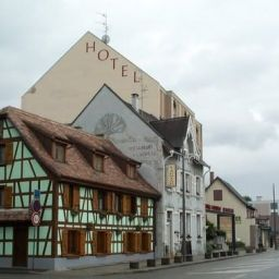 Exterior view d Alsace INTER-HOTEL Fotos