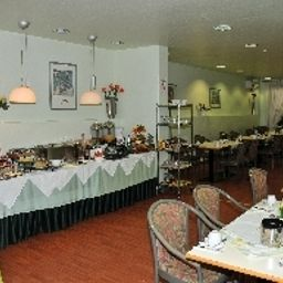 Breakfast room within restaurant Atrium an der Messe Garni Fotos