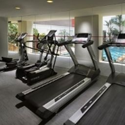 Fitness room Rendezvous Grand Hotel Singapore Fotos