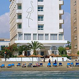 Exterior view Flamingo Beach Fotos