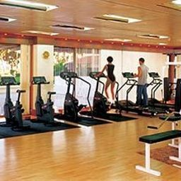 Wellness/fitness area Taj Lands End Fotos