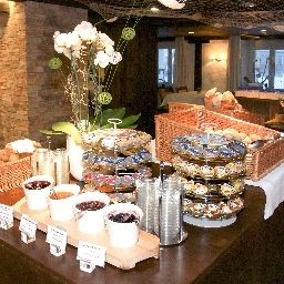 Buffet Sunstar Park Hotel Arosa Fotos