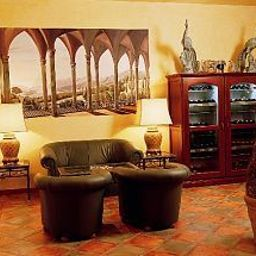 Vista all'interno Best Western Wein - und Parkhotel Fotos