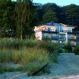 Фасад Grand Hotel Binz Fotos