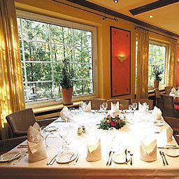 Breakfast room within restaurant Im schönsten Wiesengrund Fotos