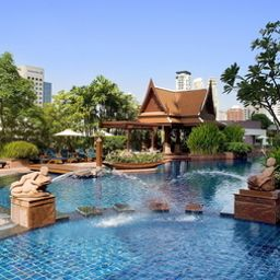 Pool A Royal Meridien Hotel Plaza Athenee Bangkok Fotos
