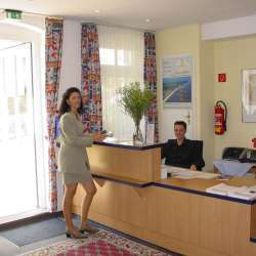 Reception Aparthotel an der Seebrcke Garni Fotos