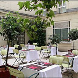 Terrace Pavillon Saint-Augustin Fotos