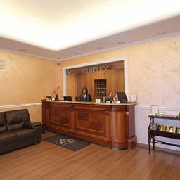 Reception Euro House Suites Rome Airport Fotos