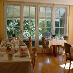 Breakfast room Villa im Park Garni Fotos