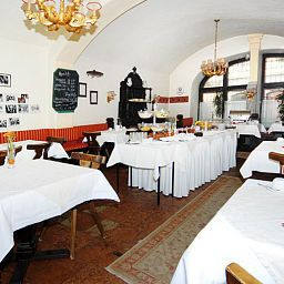 Breakfast room Stadtkrug Salzburg Fotos