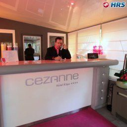 Réception Cezanne Hotel Spa Fotos