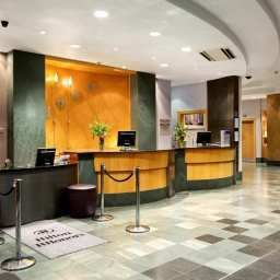 Холл Hilton London Islington hotel Fotos