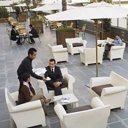 Terrasse Eurohotel Diagonal Port Fotos
