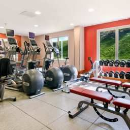 Wellness/fitness area Hilton London Heathrow Airport Fotos
