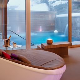 Wellness area Villa Silvana im Waldhaus Flims Mountain Resort & Spa Fotos