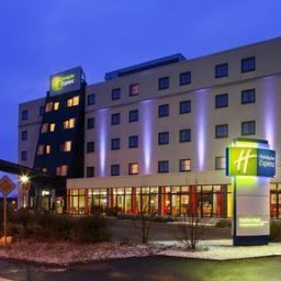 Exterior view Holiday Inn Express FRANKFURT AIRPORT Fotos