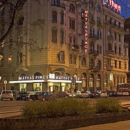 Фасад City Hotel Mátyás Fotos
