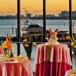 Sala de banquetes Miami Marriott Biscayne Bay Fotos