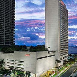 Vista exterior Miami Marriott Biscayne Bay Fotos