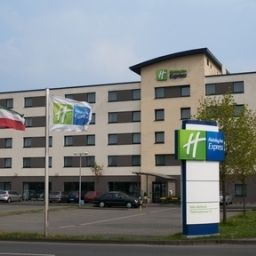 Фасад Holiday Inn Express COLOGNE - MUELHEIM Fotos
