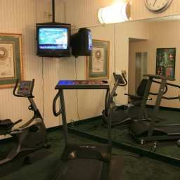 Wellness/fitness area Hampton Inn Raleigh-Town of Wake F Fotos