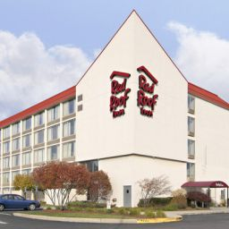 Vue extérieure Red Roof Inn Boston Woburn Fotos