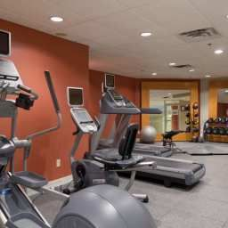 Wellness/fitness area Hilton MontrealLaval Fotos