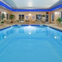 Pool Holiday Inn Express Hotel & Suites GREENVILLE-I-85 & WOODRUFF RD Fotos