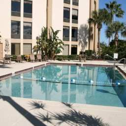 Pool Hampton Inn Daytona SpeedwayAirport Fotos