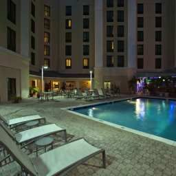 Basen Hampton Inn - Suites Miami-Doral-Dolphin Mall FL Fotos