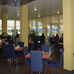 Breakfast room within restaurant Airport Best Western Fotos