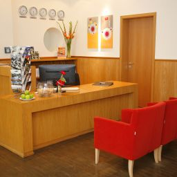 Reception HSH Hotel Apartments Mitte Fotos