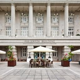 Exterior view The Fullerton Hotel Singapore Fotos