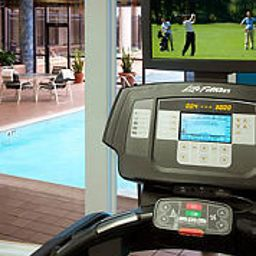 Sala fitness Newark Liberty International Airport Marriott Fotos
