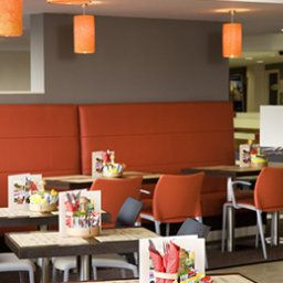 Breakfast room within restaurant ibis Dublin Fotos